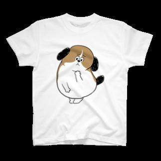 マツバラのもじゃまる心配 T-shirts