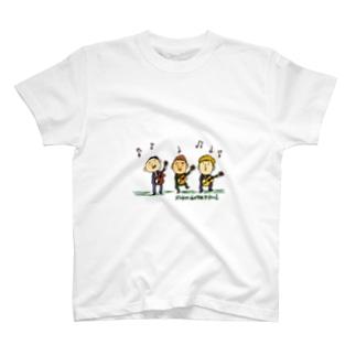 ギタートリオ カラー T-shirts