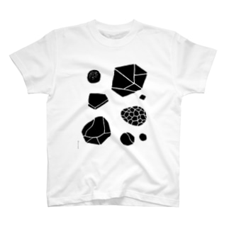 SURFACE_series#01(stones) T-shirts