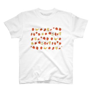 いちごだ T-shirts