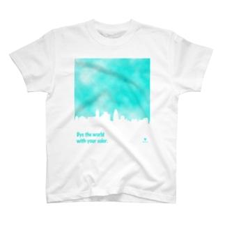 染まる T-shirts