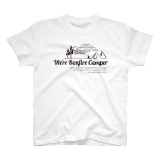 awのWe're Bonfire Camper 2019 T-shirts