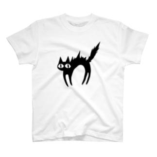 さかだちねこ T-shirts