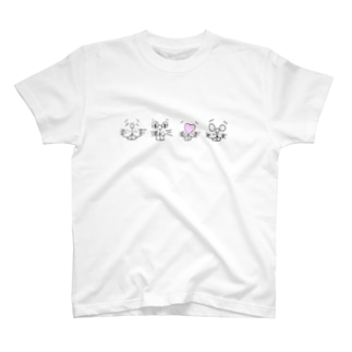 自称 ぽーかーふぇいす。 T-shirts
