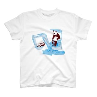 パンダの親子 T-Shirt
