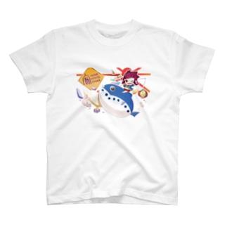 華涙 × HOME HOSTEL OSAKA 新世界 T-shirts