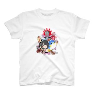 紀ノ国迅太郎 × HOME HOSTEL OSAKA 新世界 T-shirts