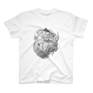 Aimi Nakano × HOME HOSTEL OSAKA 新世界 T-shirts