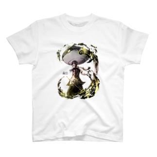 yUneshi × HOME HOSTEL OSAKA 新世界 T-shirts