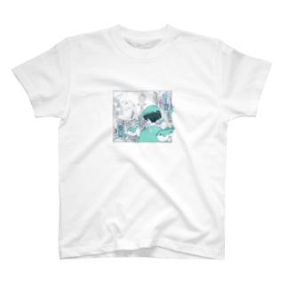 フジミヤ× HOME HOSTEL OSAKA 新世界 T-shirts