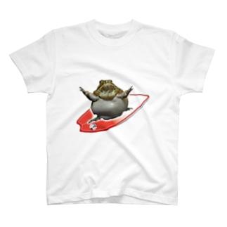 アフウシサーフィン T-shirts