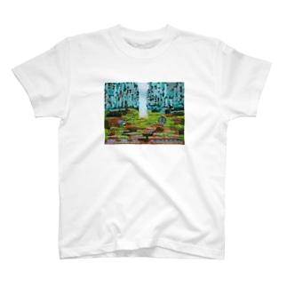 目覚めの夢Tシャツ T-shirts