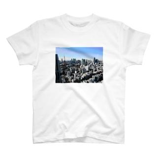 nora_nのTOKYOどっと  T-shirts