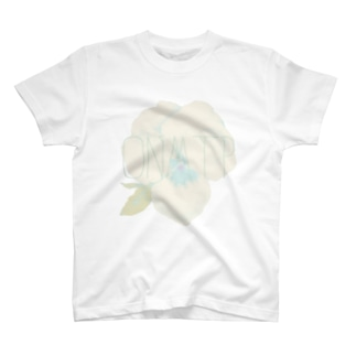 ホワイトパンジー T-shirts