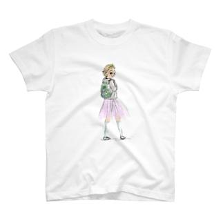 プリンセス・ティーンエイジャー T-shirts