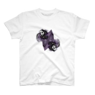 フェイクディガー「闇の黒い宝石」 T-shirts