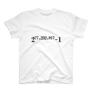 素数をあしらったアイテム T-shirts