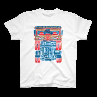 【 田 】のトラックの野郎!ウイリィ T-shirts