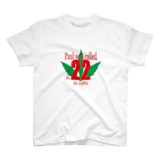 22番 version2 T-shirts