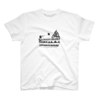 strawberry cake T-shirts