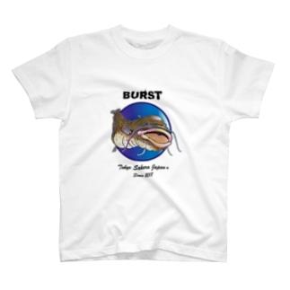 ナマズんBURST T-shirts