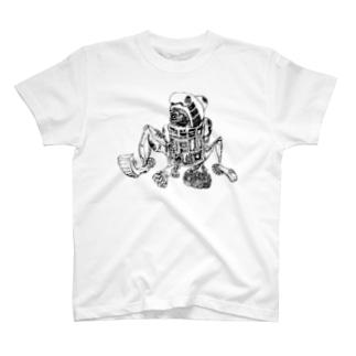 アンドロイドロボット T-shirts