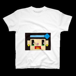 nunomorikotonohaのかくばりこちゃん T-shirts