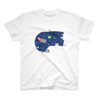 夜空くん T-shirts