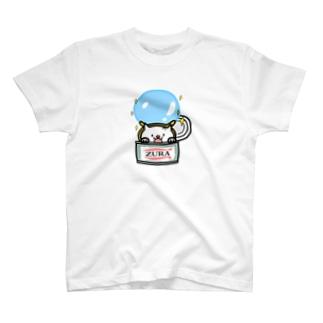 ZURA缶 T-shirts