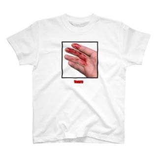 """""""tear"""""""" T-shirts"""