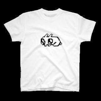 おばけのみせのドットだよ!おにおんりんぐぴょんちゃん T-shirts