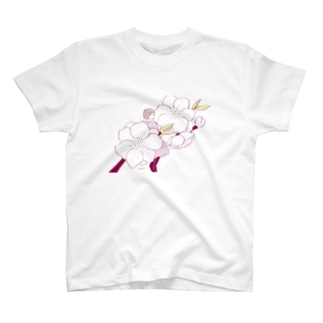 桃の花 T-shirts