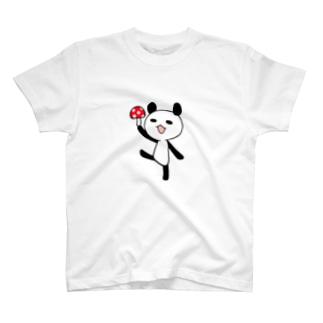 きのこパンダ T-shirts