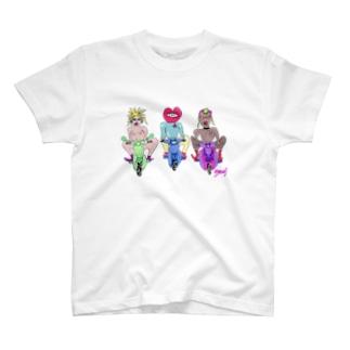 エッチな暴走族 T-shirts