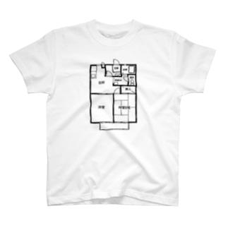 まどり2DK T-shirts