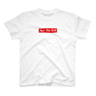 Apr the 3rd(4月3日) T-shirts