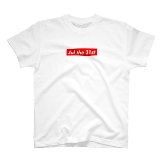 Jul the 31st(7月31日) T-shirts