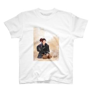 おすわりむもたん T-shirts
