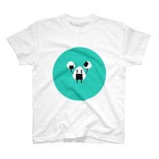 ◆Onigiri man T-shirts