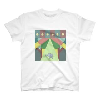 ゾウ2 T-shirts