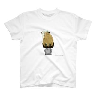 猫の床屋 T-shirts