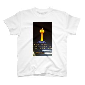 京都タワー T-shirts