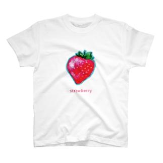 いちごグッズ T-shirts