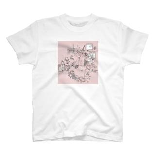 春の花束 T-shirts