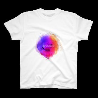 とりぷしんハウスのSPLATTER T-shirts