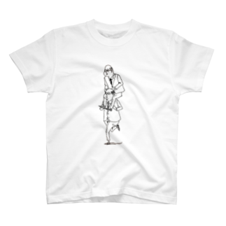 YuLink.( ユリンク )のおっさんのかたぐるま T-shirts