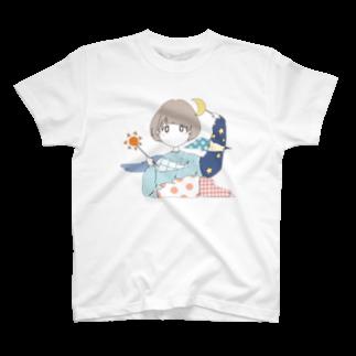 おやすみーこのお天気ガール T-shirts
