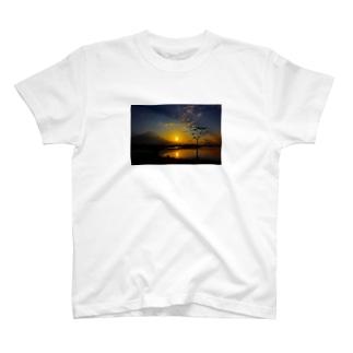 富士山パーカー T-shirts