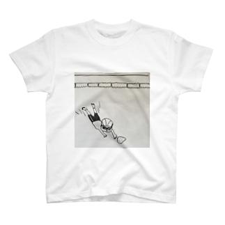 落し物を取りに T-shirts