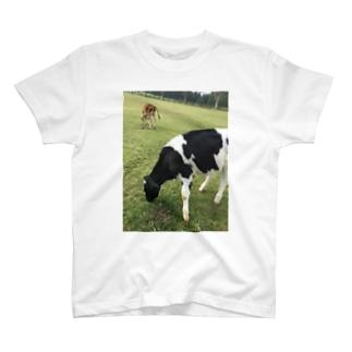 もぐもぐ。 T-shirts